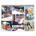 Calendar: Abandoned Toys Calendar