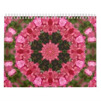 Calendar-Abstract Art-Mandalas Calendar