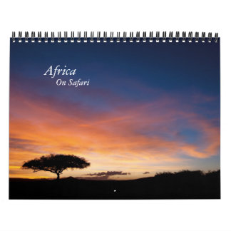 Calendar - Africa on Safari