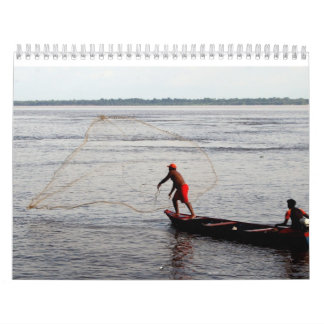 Calendar, Amazon River Calendar