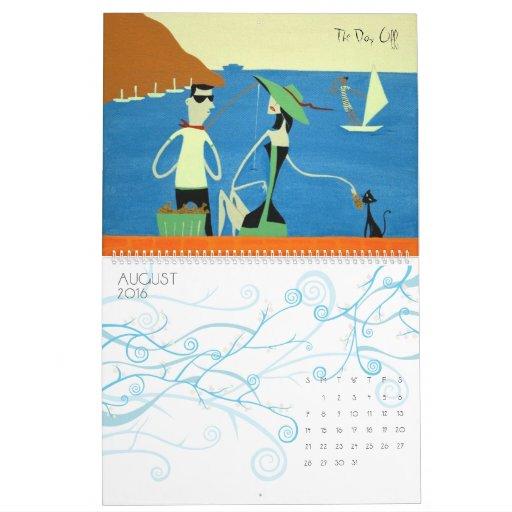 Calendar Art by Maya Dvalishvili
