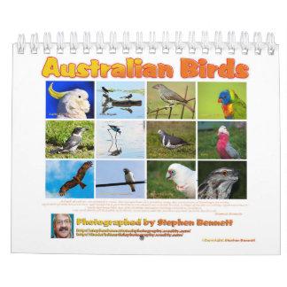 Calendar: Australian Birds photographs Calendar