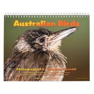 Calendar: Australian Birds photographs...Large Calendar