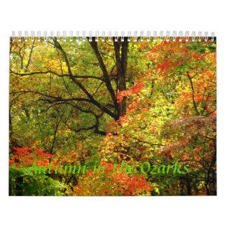 Calendar Autumn in the Ozarks