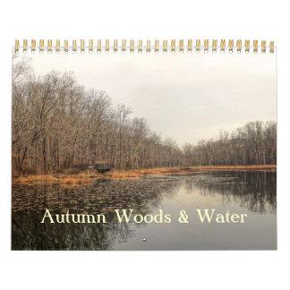 Calendar - Autumn Woods & Water