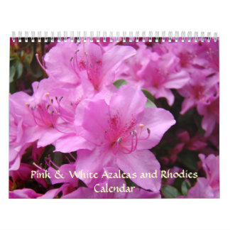 CALENDAR Azaleas Calendar Rhodies Christmas
