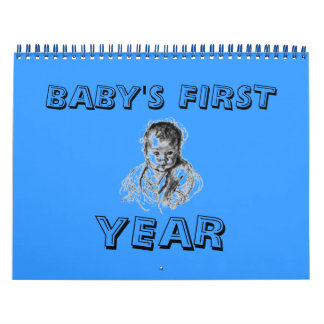 CALENDAR BABYS FIRST YEAR ADD PHOTOS PERSONALIZE