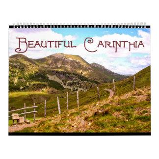 """Calendar """" Beautiful Carinthia """" 2015"""