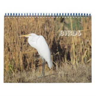 Calendar - Birds for New Year