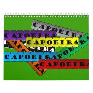 Calendar capoeira axe martial arts batizado