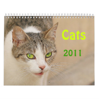 Calendar - Cats 2011