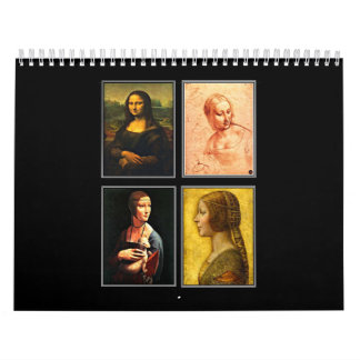 Calendar-Classic/Vintage-Leonardo da Vinci Calendar
