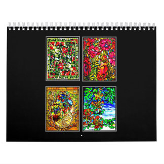 Calendar-Classic/Vintage-Louis Comfort Tiffany Calendar