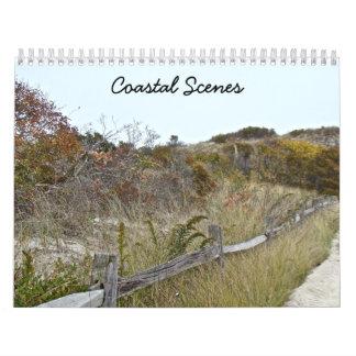 Calendar - Coastal Scenes