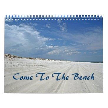 Beach Themed Calendar - Come To The Beach