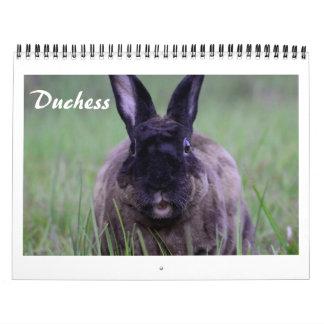 Calendar de duquesa The Chocolate Bunny's Calendarios