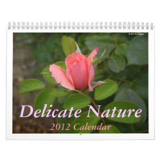 Calendar: Delicate Nature Calendar