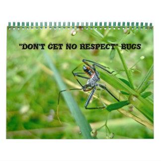 Calendar- Don't Get No Respect Bugs Calendar