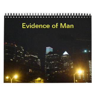 Calendar - Evidence of Man
