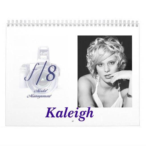 Calendar f/8 Model Management (Kaleigh)