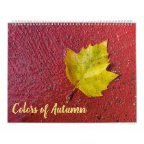 Calendar Fall Colors in Nature