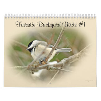 Calendar Favorite Backyard Birds #1