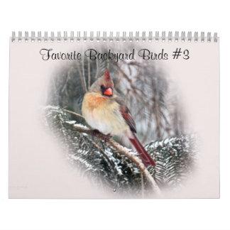 Calendar Favorite Backyard Birds #3