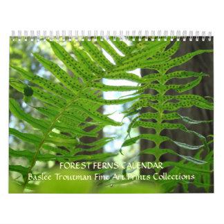 CALENDAR FERNS Calendar Redwood Forest Ferns