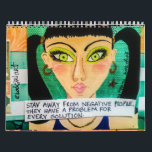 """calendar FILLED WITH BAD GIRL ART<br><div class=""""desc"""">frame the pages you like at the end of the year.</div>"""