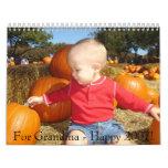 Calendar for Grandma Patsy