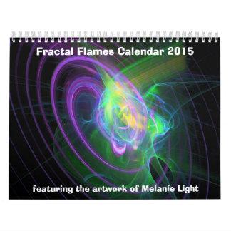 Calendar: Fractal Flames Calendar 2015