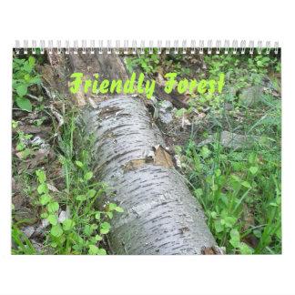 Calendar - Friendly Forest
