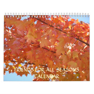 CALENDAR FRIENDS for all SEASONS Gifts