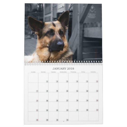 Calendar - German Shepherd