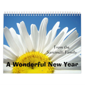 Calendar Gifts Floral Photography Add Your Name