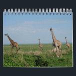 """Calendar giraffe<br><div class=""""desc"""">Of Africa animal world</div>"""