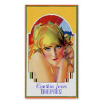 Calendar Girl Double-Sided Standard Business Cards (Pack Of 100)