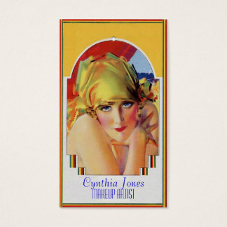 Calendar Girl Business Card