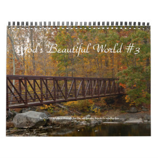 Calendar - God's Beautiful World #3