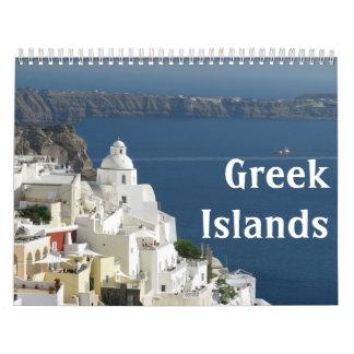 Calendar - Greek Islands
