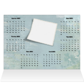 calendar greting card