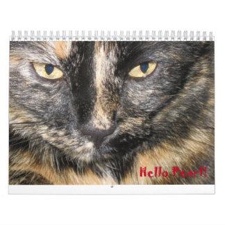 Calendar. Hello Pearl! Calendar
