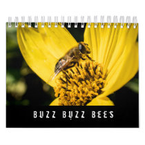 Calendar Honey and Bumble Bees