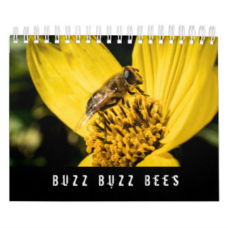 Calendar Honey and Bumble Bees