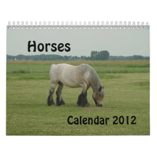 Calendar - Horses