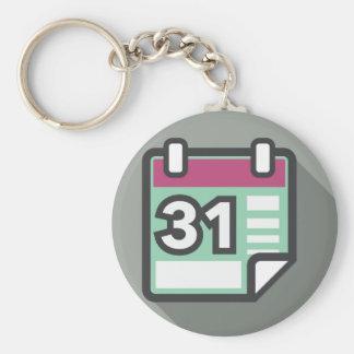 Calendar Icon Keychain