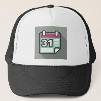 Calendar Icon Trucker Hat