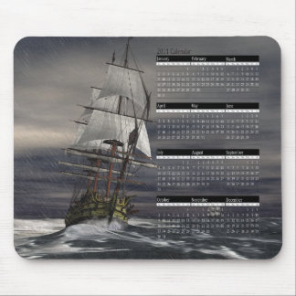 Calendar-Inclement Weather Mouse Pad