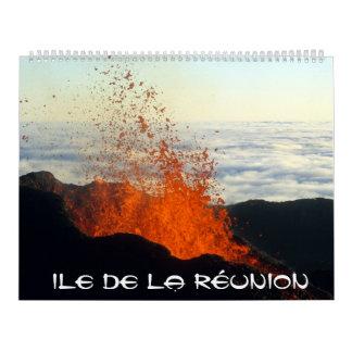 Calendar Island of Réunion