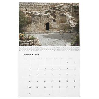 Calendar Israel 2016